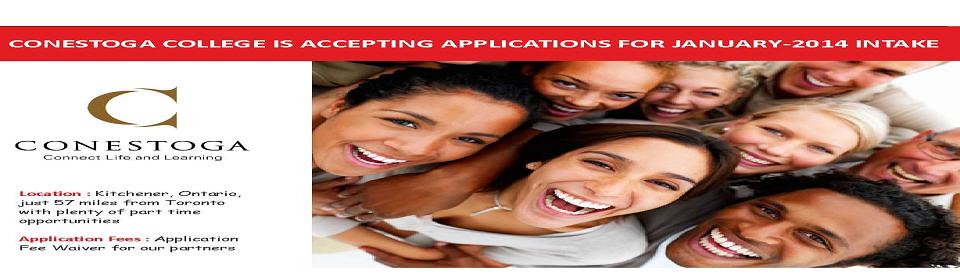 Canada admission consultants in jaipur_conestoga College_www.lnconsultancy.com